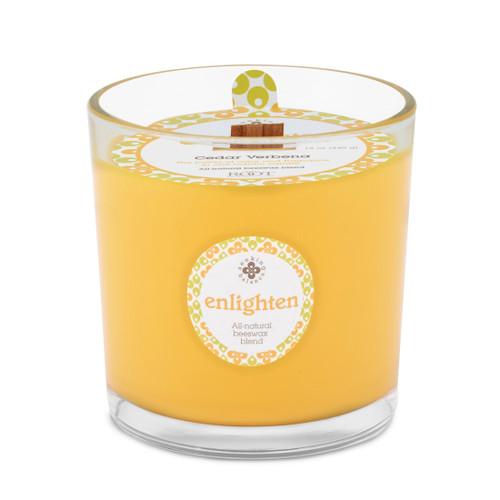 Seeking Balance® 12 oz Spa Candle Cedar Verbena Enlighten