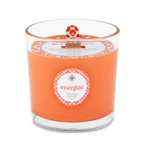 Seeking Balance® 12 oz Spa Candle Rosemary Eucalyptus Energize