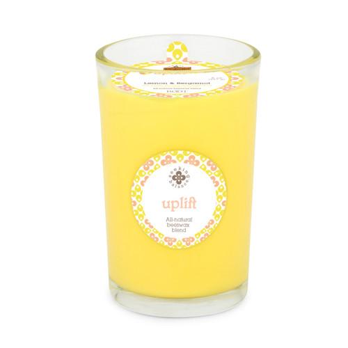 Seeking Balance® 8 oz Medium Spa Candle Lemon & Bergamot Uplift