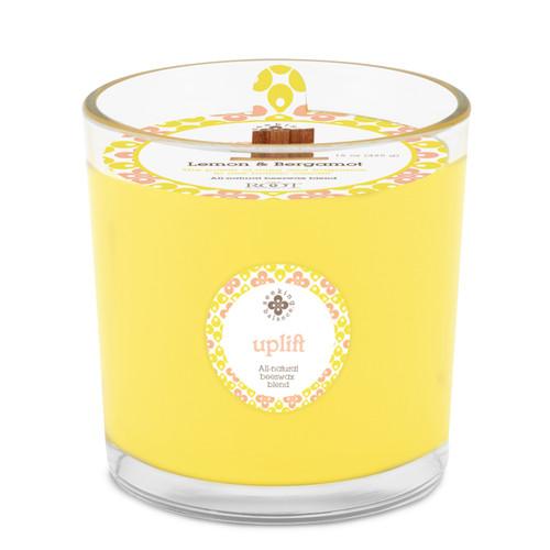 Seeking Balance® 12 oz Spa Candle Lemon & Bergamot Uplift