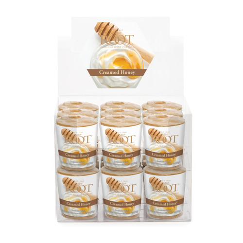 Creamed Honey 20 Hour Beeswax Blend Box of 18 Votives