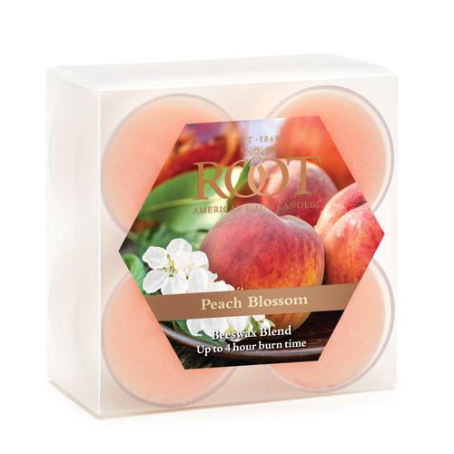 Peach Blossom Beeswax Blend Tealights
