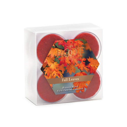 Fall Leaves Beeswax Blend Tealights