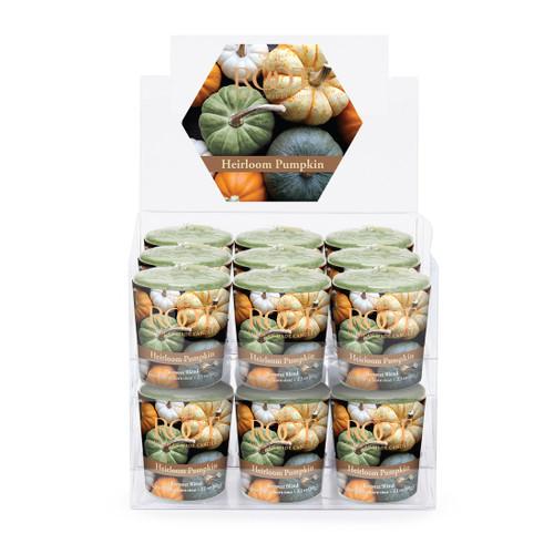 Heirloom Pumpkin 20 Hour Beeswax Blend Box of 18 Votives