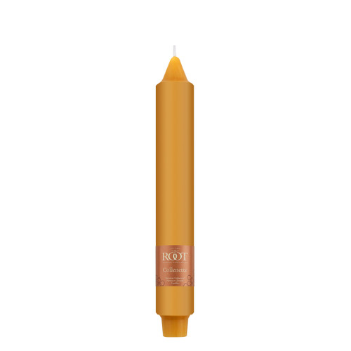 """9"""" Smooth Collenette Butterscotch Single Candle"""