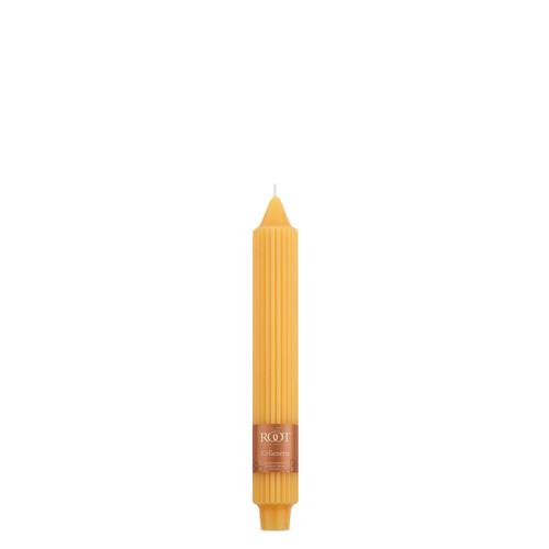 "9"" Grecian Collenette Butterscotch Single Candle"