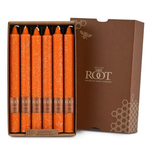 """9"""" Timberline™ Arista™ Pumpkin Box of 12 Candles"""