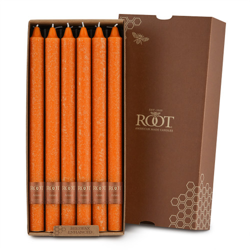 """12"""" Timberline™ Arista™ Pumpkin Box of 12 Candles"""