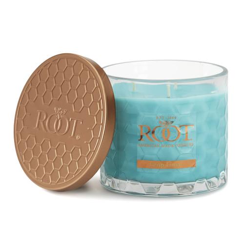 Crisp Linen 3 Wick Honeycomb Candle