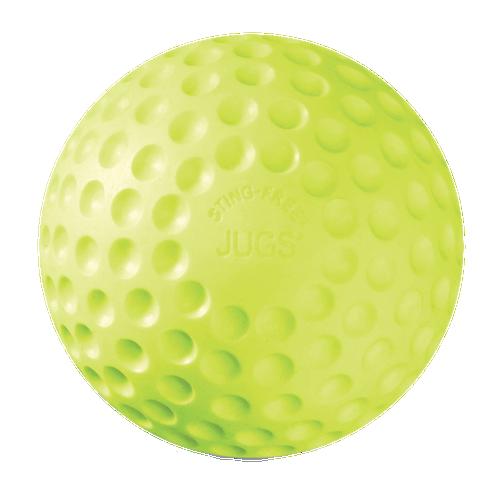 Sting-Free® Dimpled Softballs: Game-Ball™ Yellow