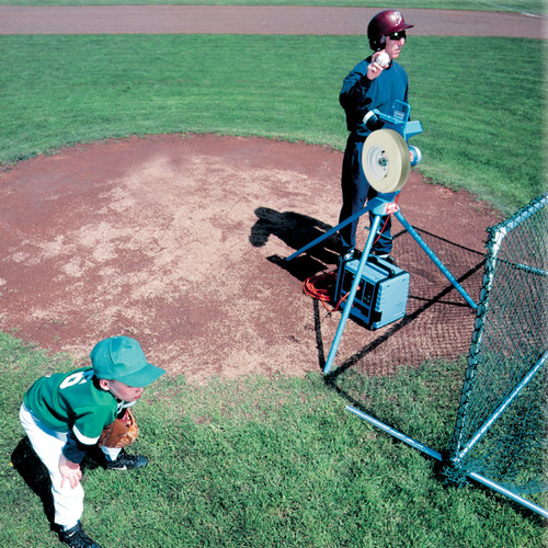 MVP® Combo Baseball and Softball Pitching Machine