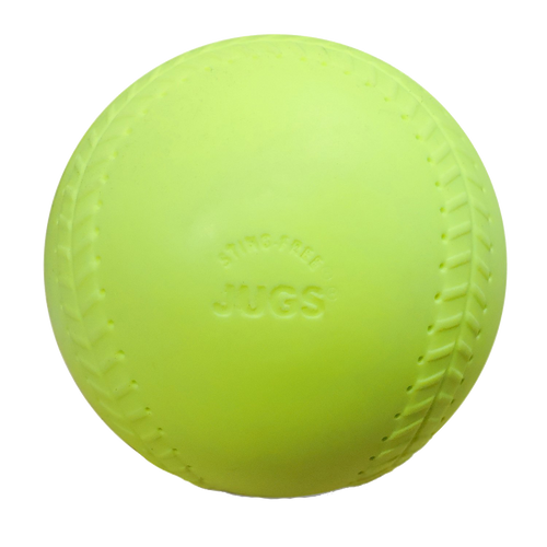 Sting-Free® Realistic-Seam Softballs:  Game-Ball™ Yellow