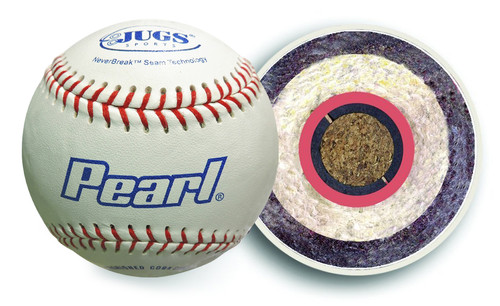 Bucket of JUGS Pearl® Baseballs