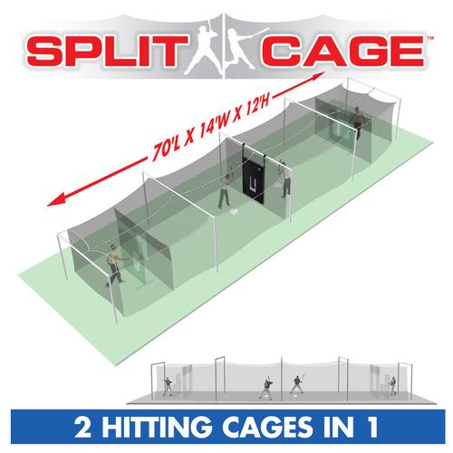 Split Cage™ #96 POLYESTER: 70' L x 14' W x 12 H