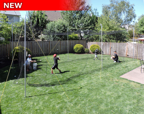 Hit at Home® Backyard Batting Cage