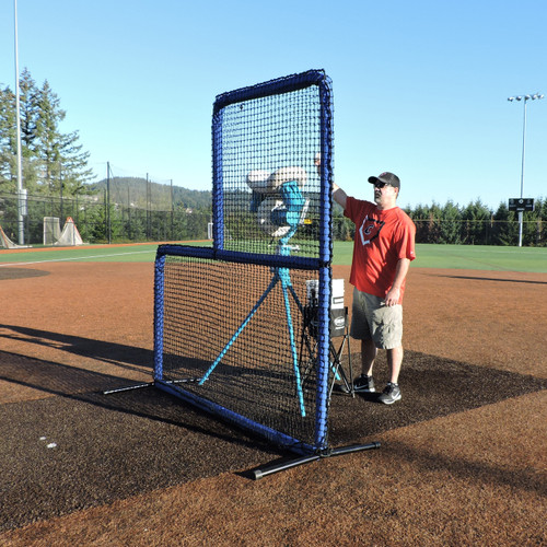Protector™ Blue Series L-Shaped Pitchers Screen