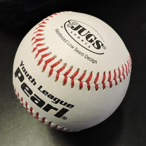 Bucket of JUGS Youth League Pearl® Baseballs