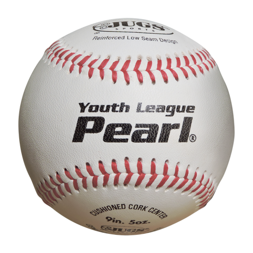 Bucket of JUGS Youth League Pearl® Baseballs