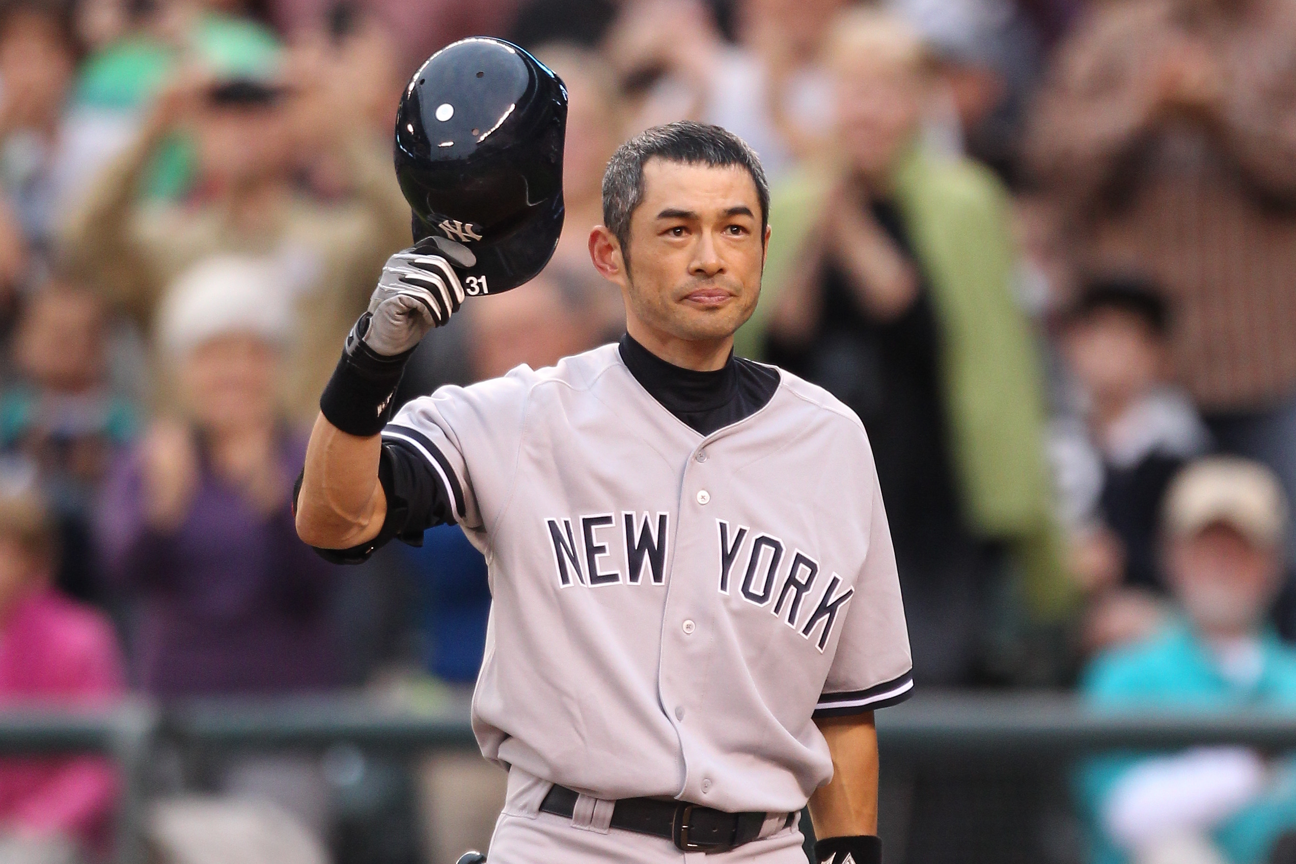 Ichiro: We recognize his name, his fame and his amazing achievements.