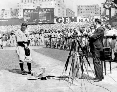 Looking Back at Lou Gehrig Appreciation Day