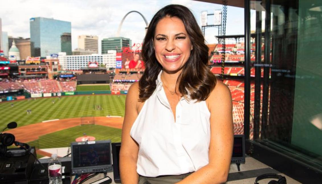 Jessica Mendoza Hall Of Fame Softball Player Stanford Grad Olympic Gold Medalist Seasoned Broadcaster Jugs Sports
