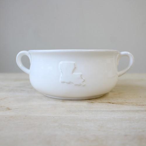 Louisiana Double Handle Bowl