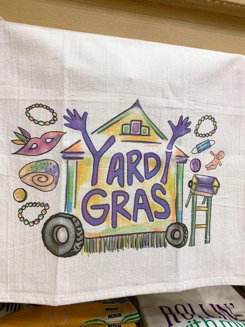Yardi Gras Towel