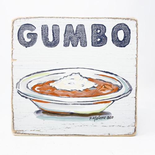 Gumbo Wood Sign