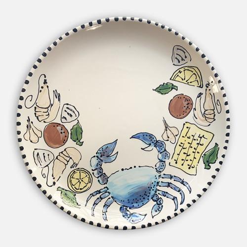 Summer Seafood Round Platter