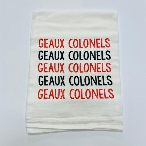 Geaux Colonels Towel