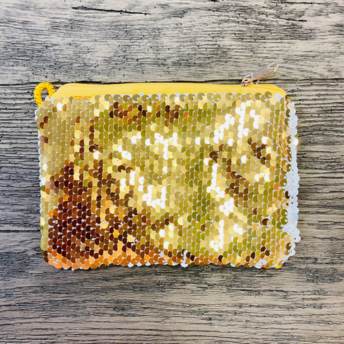 Privacy Pouch in Gold