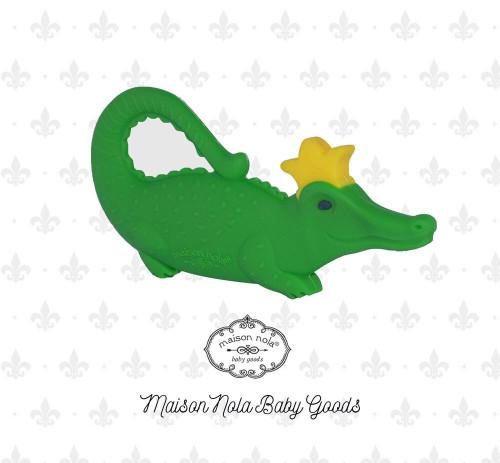 Gator Green Teether