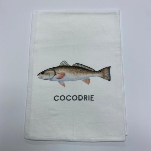 Redfish Towel - Cocodrie