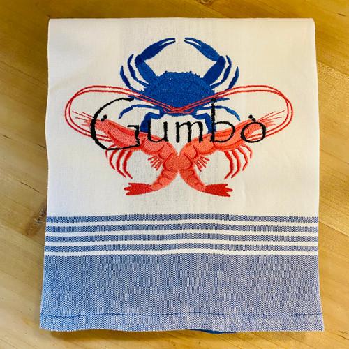 Kitchen Towel - Crab & Shrimp - Gumbo