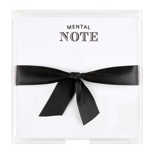 Mental Note Pad Set