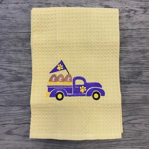 Kitchen Towel - LSU Truck