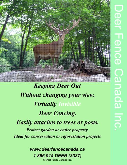 Deer fence Canada Brochure