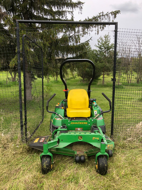 5 X 7 Gate with lawn tractor