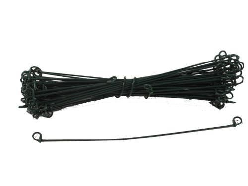 10 inch Fence / Garden Ties. 100 Bundle