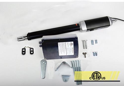 Lockmaster Single opener kit Solar powered.