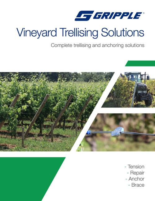 Gripple Vineyard brochure cover