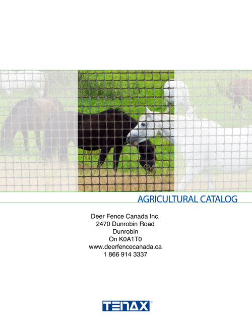 Tenax Agricultural Catlogue