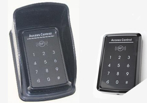 LM 175P touch screen key pad with Access card reader built in.