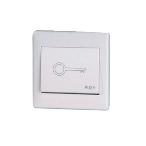 Wall mount push button