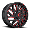 20 x 8.25 Fuel Triton D656 Black Red