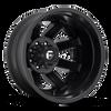 22 x 8.25 Fuel Maverick D436 Matte Black