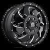 20 x 8.25 Fuel Cleaver D574 Black Machined