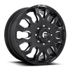 20 x 8.25 Fuel Blitz D673 Black Machined