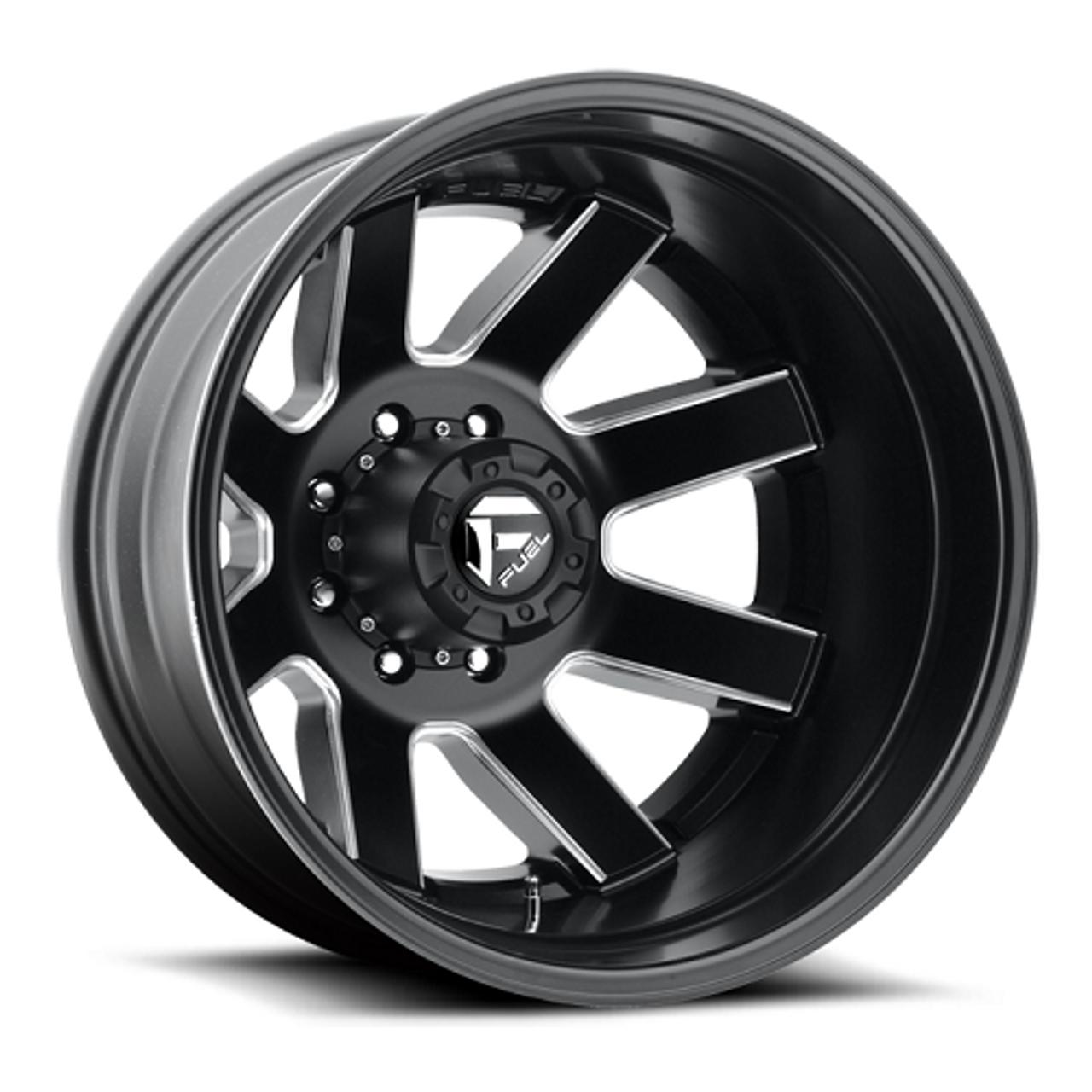 22 x 8.25 Fuel Maverick D538 Black