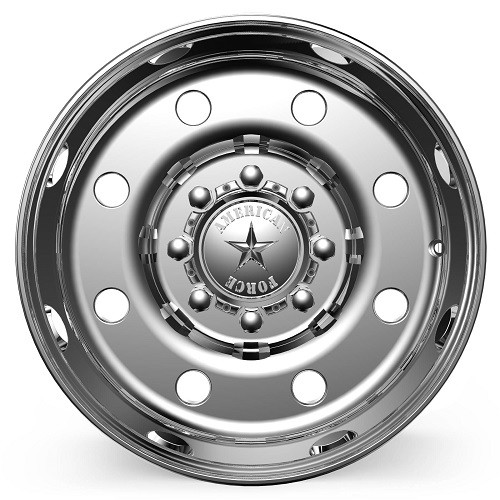 19.5 x 7.5 American Force Beast SS Polished front